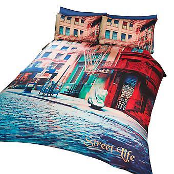 Gaten liv Grafisk Design dynetrekk sengetøy sett