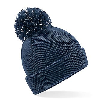 Beechfield Childrens/Kids Reflective Bobble Beanie