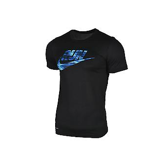 Nike torka legendariska varumärket 831909-010 herr T-shirt