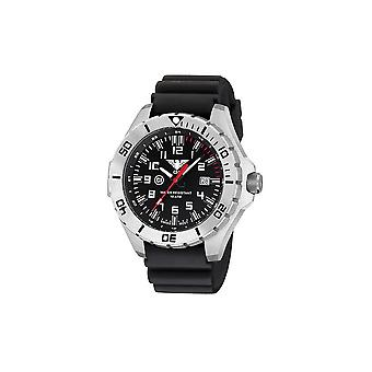 KHS zegarki męskie zegarek stal przywódca kraju KHS. LANS. DB