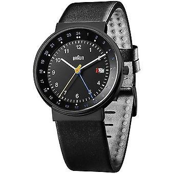 Braun Uhren Herrenuhr Classic BN0142BKBKG-66557