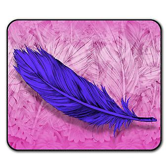 Elegant Feather  Non-Slip Mouse Mat Pad 24cm x 20cm | Wellcoda