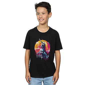 Vincent Trinidad jungen Rad Einhorn T-Shirt