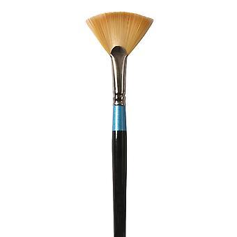 Daler Rowney Aquafine Watercolour Artist Paint Brush Fan Brush 4