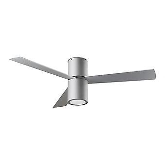 Ventilatore da soffitto design LEDS-C4 Formenta Grey con incluso luce, 132 cm/52