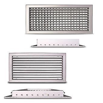 Justerbar ventilationsgallret CasaFan ALG-D och ALG-O