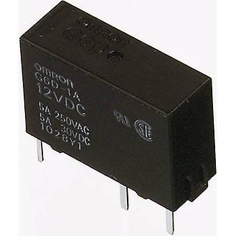 Omron G6D-1A-ASI 12DC PCB relay 12 V DC 5 A 1 maker 1 pc(s)