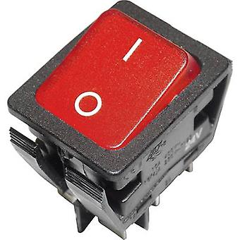 Arcolectric Toggle switch C6057ALFAB 24 V DC/AC 16 A 2 X/Klinke 1 PC ausschalten