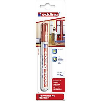 Edding edding 3000 4-3000002 Permanent marker Red waterproof: Yes