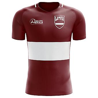 2020-2021 Latvia Home Concept Football Shirt (Kids)