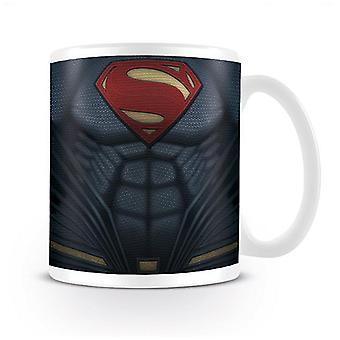 Batman vs Superman cup Superman petto bianco, stampato, fatto di ceramica, presa÷gen circa 320ml., in confezione regalo.