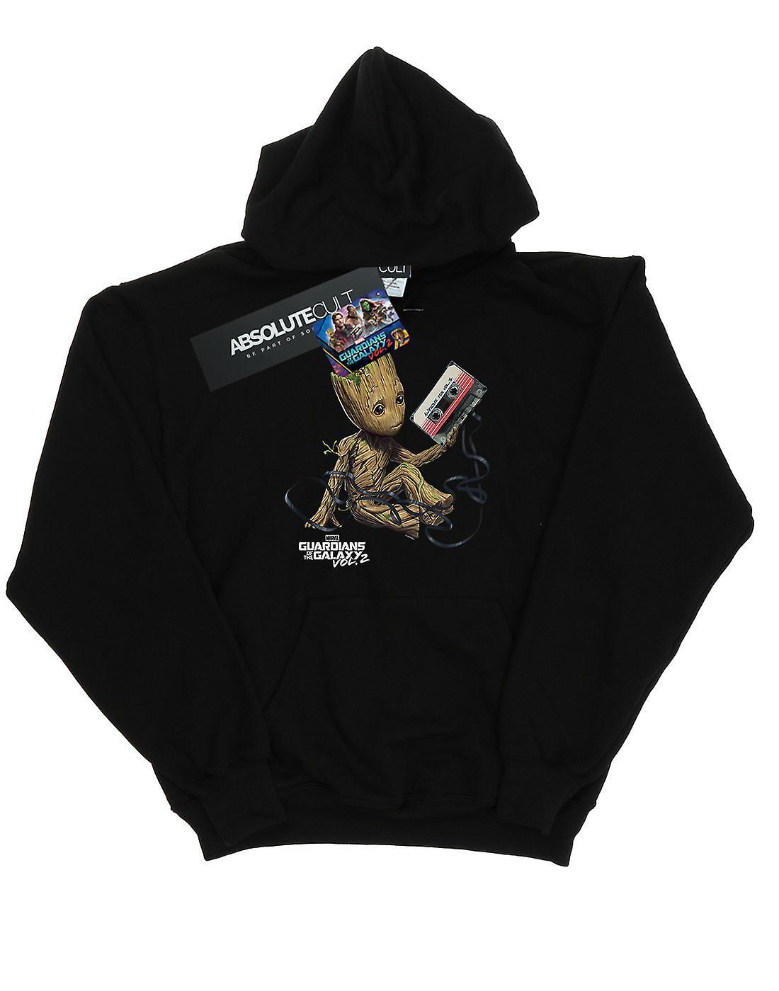 Marvel Boys Guardians Of The Galaxy Groot Tape Hoodie