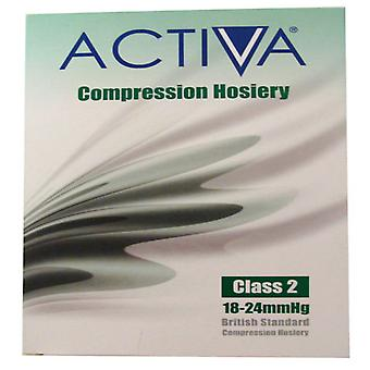 Activa Compression Tights Tights Cl2 Stock B/Knee Sand 259-0628 Sml