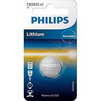 Philips CR2025 Knopfzelle