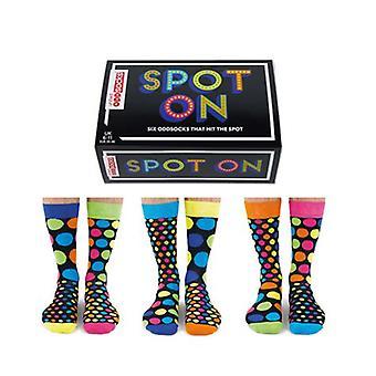 Vereinigte Oddsocks Neuheit entdeckt Socken
