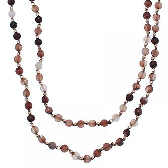 Bcharmd Lucinda Agate Crystal Necklace