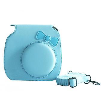 Fujifilm Instax Mini 8 camera bag-light blue