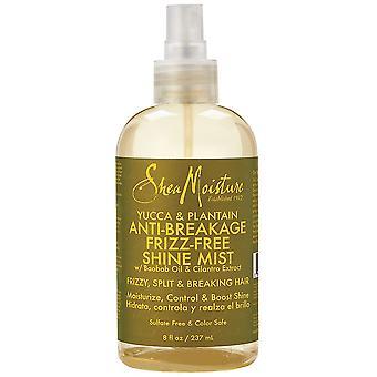 Shea Moisture Yucca & Plantain Anti-Breakage Frizz-Free Shine Mist 237ml