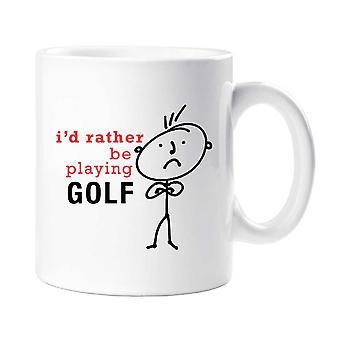 Męskie I raczej będzie grać kubek Golf
