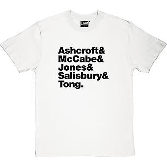 Verve Line-Up herrarnas T-Shirt