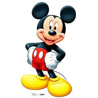 Micky Maus (Disney) - Lifesize Karton Ausschnitt / f