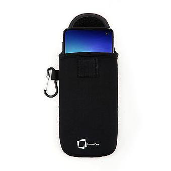InventCase Neoprene Protective Pouch Case for Samsung Galaxy S10e 2019 - Black