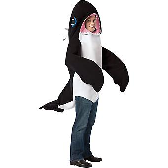 Killer Whale Adult Costume 2