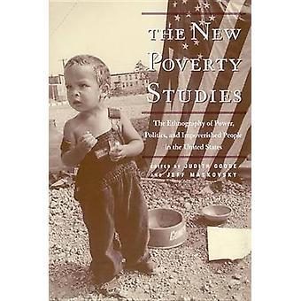 新しい貧困研究権力政治とグッド ・ ジュディス ・ g. によって米国の貧困の民族誌