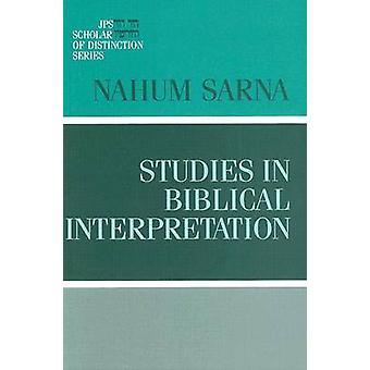 サーナ ・ ナホム M による聖書解釈の研究。