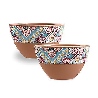 Epicurean Rio Corte Set of 2 Melamine Dipping Bowls