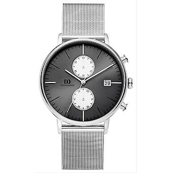 Deens design Tidlos Koltur Chrono Watch-zilver/grijs