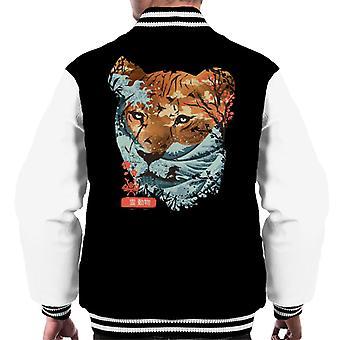 Oriental Tiger Men's Varsity Jacket
