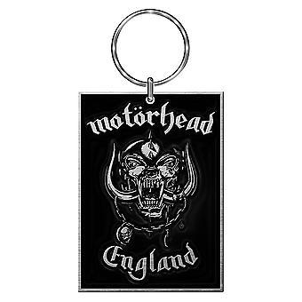 Motorhead England Logo Metal Keyring