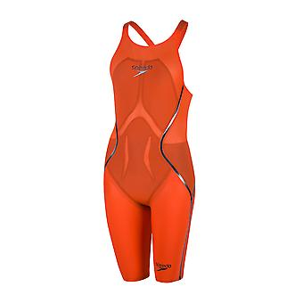 Speedo Frauen Speedo Lzr Racer X Openback Kneeskin Competition Swimwear