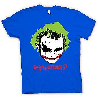 Crianças a t-shirt-Batman, por que tão sério