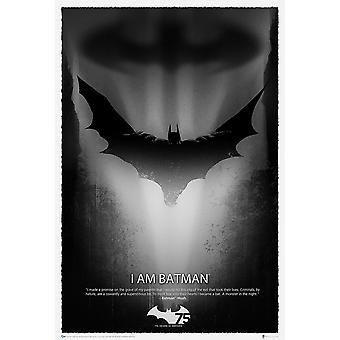 Poster - DC Comics - Batman 75th Anniversary Toys Licensed dcc-0155