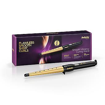 Babyliss 2285DU Smooth Vibrancy Hair Curling Wand 25-13mm Barrel Salon Styler