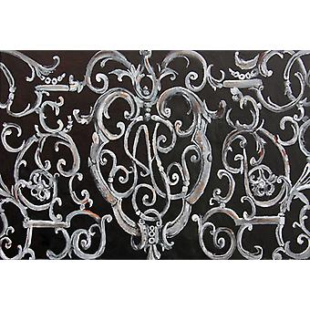 Carolines Treasures  8927PLMT Ironwork Fence Fabric Placemat
