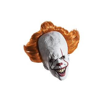 Pennywise The Clown IT Scary Halloween Creepy Overhead Masque Fancy Dress Costume