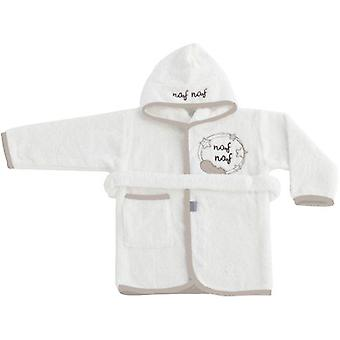 Naf Naf Bathrobe 100% Cotton Beige Dreams (Textile , Child's , Swimwear)