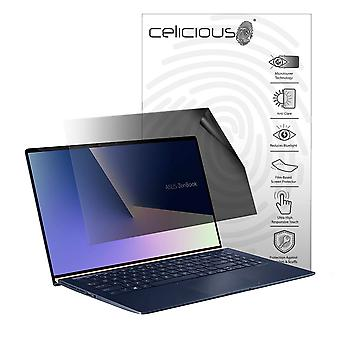 Celicious Privacy Lite 2-Way Anti-Glare Anti-Spy Filter Screen Protector Film Compatible with Asus Zenbook 15 UX533FD