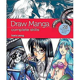 Tegne Manga: Komplet færdigheder (Video bog guider)