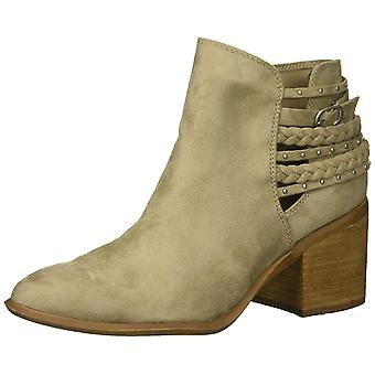 Carlos by Carlos Santana Womens ashby Fabric Almond Toe Ankle Fashion Boots
