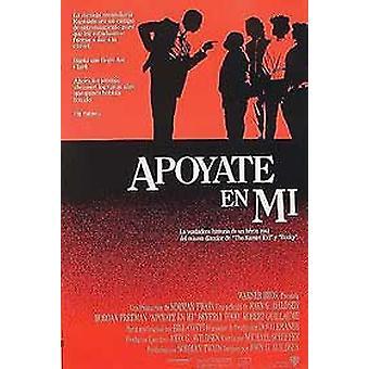 Lean On Me (einseitig normales Spanisch) Original Kino Poster