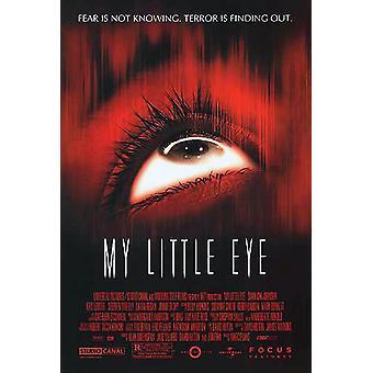 Min lilla öga (dubbelsidig regelbunden) original Cinema affisch