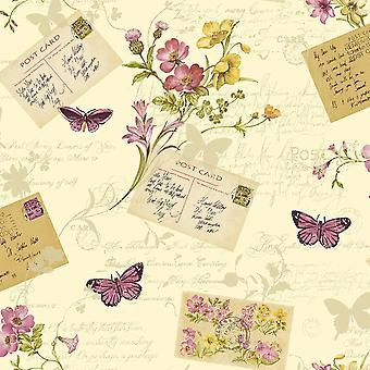 Sophie Conran Postcards Home Wallpaper