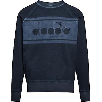 Diadora Spectra Faded Sweatshirt Denim Blue 75