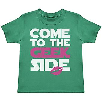 Come To The Geek Side Girls - Kids T-Shirt