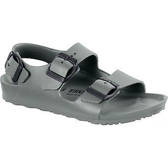 Birkenstock Kids Milano E V A Sandal 1013540 Seal Grey NARROW