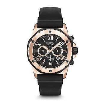 ブローバ98B104 マリンスター腕時計